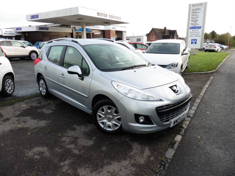 used Peugeot 207 HDI SW ACTIVE in chepstow-wyvern