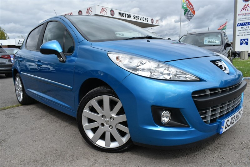 used Peugeot 207 ALLURE in chepstow-wyvern