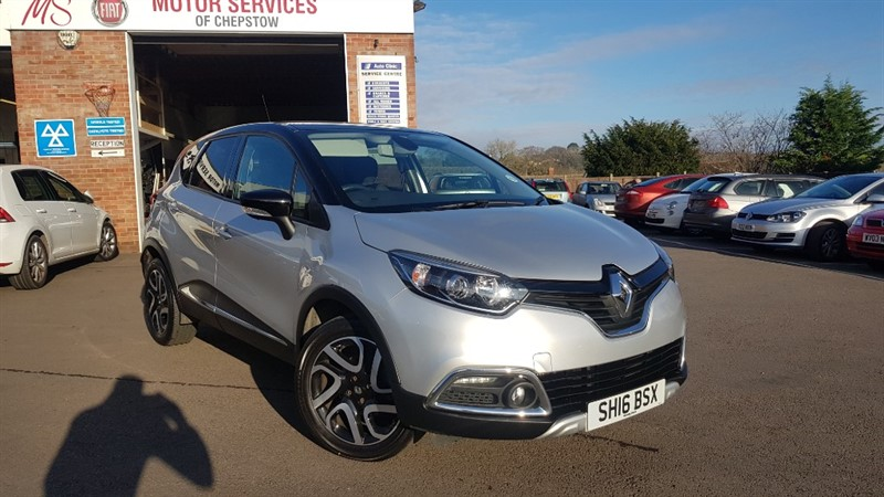 used Renault Captur SIGNATURE NAV DCI in chepstow-wyvern