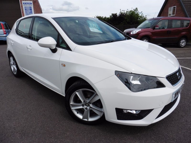used SEAT Ibiza CR TDI FR in chepstow-wyvern