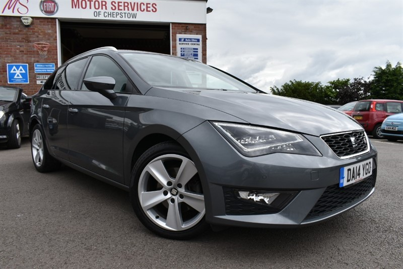 used SEAT Leon TDI FR TECHNOLOGY in chepstow-wyvern