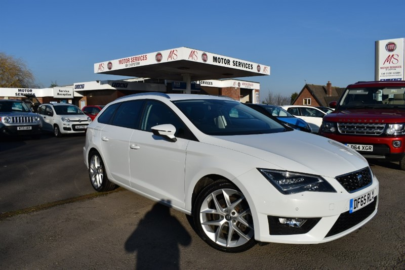used SEAT Leon TDI FR TECHNOLOGY DSG in chepstow-wyvern