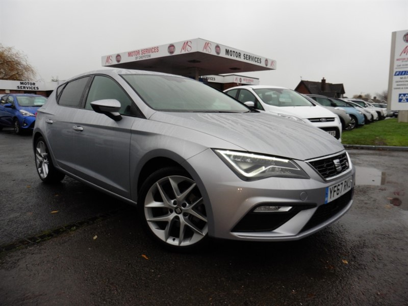 used SEAT Leon TSI FR TECHNOLOGY in chepstow-wyvern