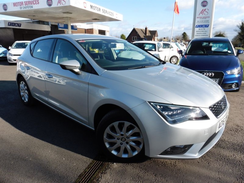 used SEAT Leon TDI SE TECHNOLOGY in chepstow-wyvern