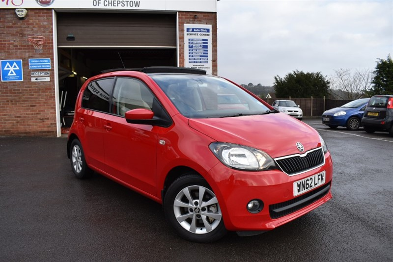 used Skoda Citigo ELEGANCE GREENTECH in chepstow-wyvern