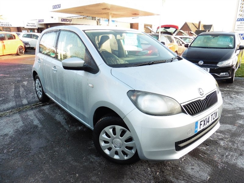 used Skoda Citigo MPI SE 5dr in chepstow-wyvern
