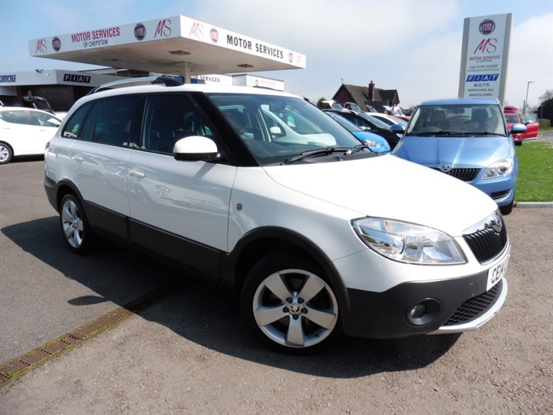 used Skoda Fabia SCOUT TDI CR in chepstow-wyvern
