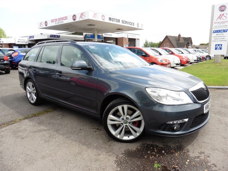 used Skoda Octavia VRS TDI CR in chepstow-wyvern