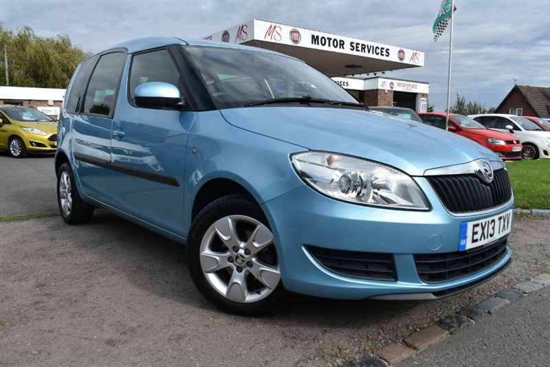 used Skoda Roomster SE TSI in chepstow-wyvern