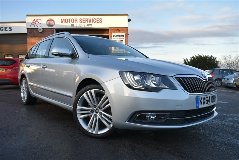 used Skoda Superb ELEGANCE TDI CR DSG in chepstow-wyvern