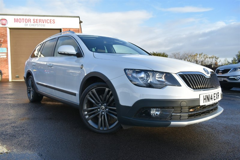 used Skoda Superb TOUR DE FRANCE TDI CR in chepstow-wyvern