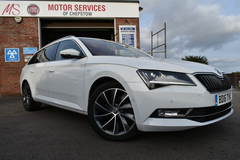 used Skoda Superb LAURIN AND KLEMENT TDI in chepstow