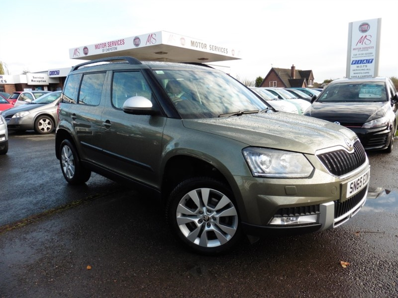 used Skoda Yeti OUTDOOR SE L TSI DSG in chepstow-wyvern
