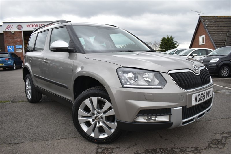 used Skoda Yeti OUTDOOR SE L TSI in chepstow-wyvern