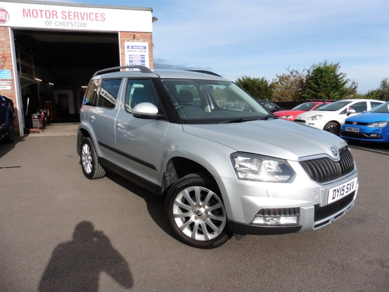 used Skoda Yeti OUTDOOR SE TSI DSG in chepstow-wyvern