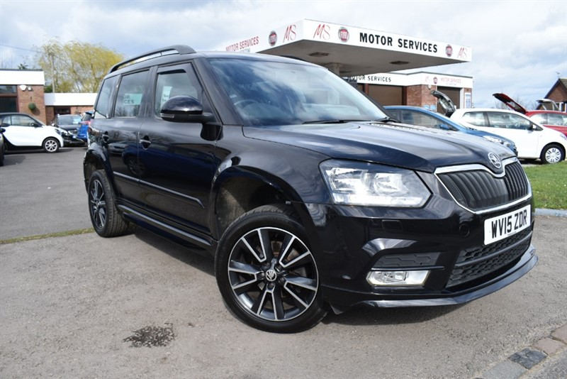 used Skoda Yeti BLACK EDITION TDI CR in chepstow-wyvern