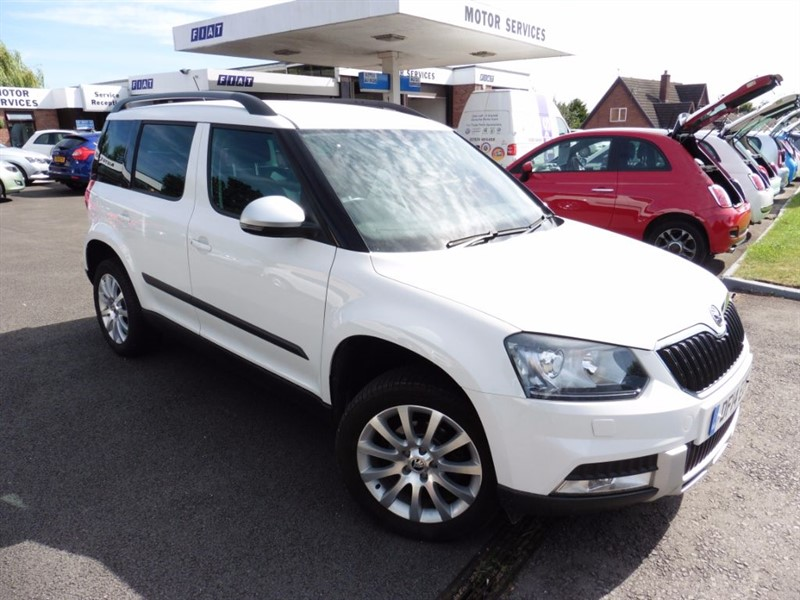 used Skoda Yeti OUTDOOR ELEGANCE TDI CR in chepstow-wyvern