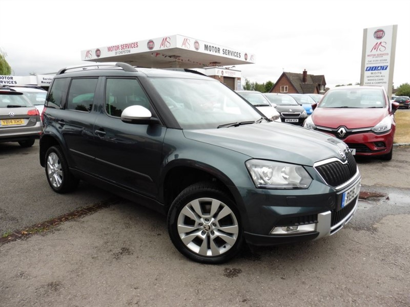 used Skoda Yeti OUTDOOR ELEGANCE TDI CR DSG in chepstow-wyvern