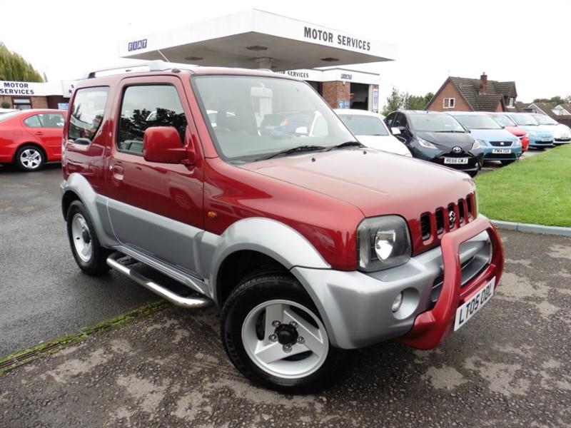 used Suzuki Jimny JLX MODE in chepstow-wyvern