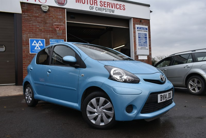 used Toyota Aygo VVT-I MOVE in chepstow-wyvern