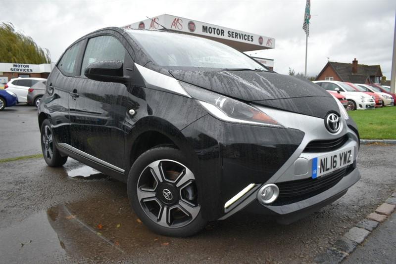 used Toyota Aygo VVT-I X-CLUSIV in chepstow-wyvern