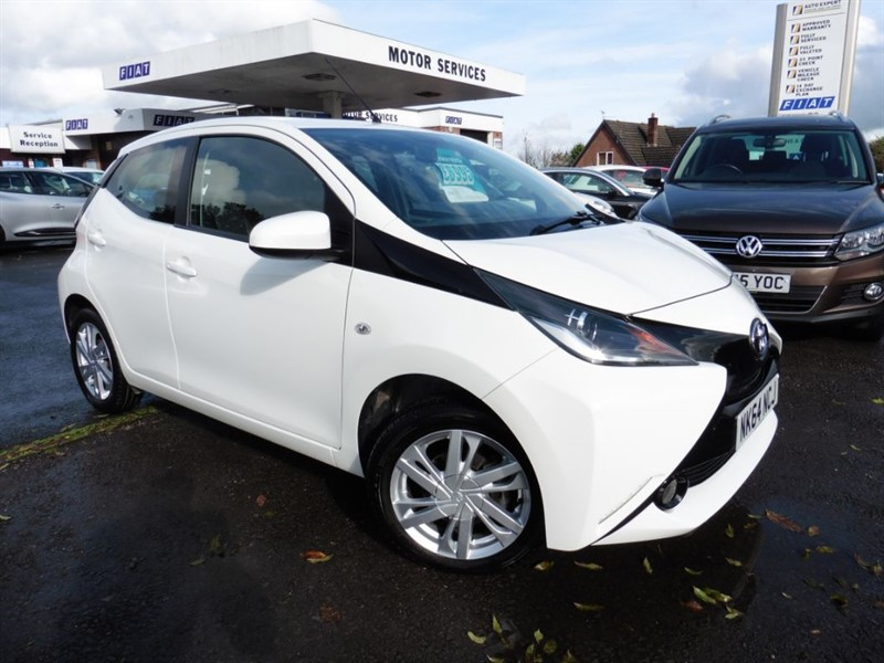 used Toyota Aygo VVT-I X-PRESSION in chepstow-wyvern