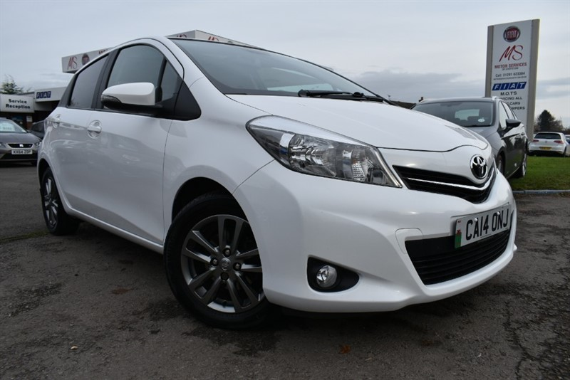 used Toyota Yaris VVT-I ICON PLUS in chepstow-wyvern