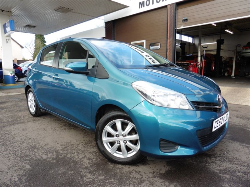 used Toyota Yaris VVT-I TR in chepstow-wyvern