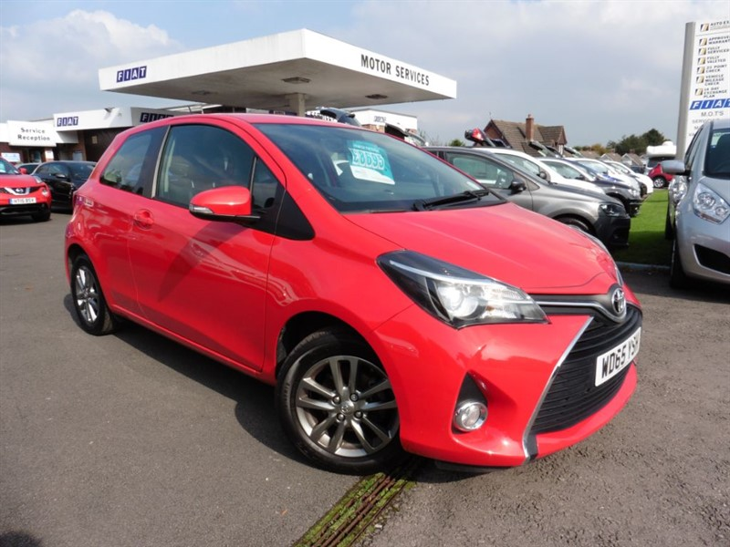 used Toyota Yaris VVT-I ICON in chepstow-wyvern