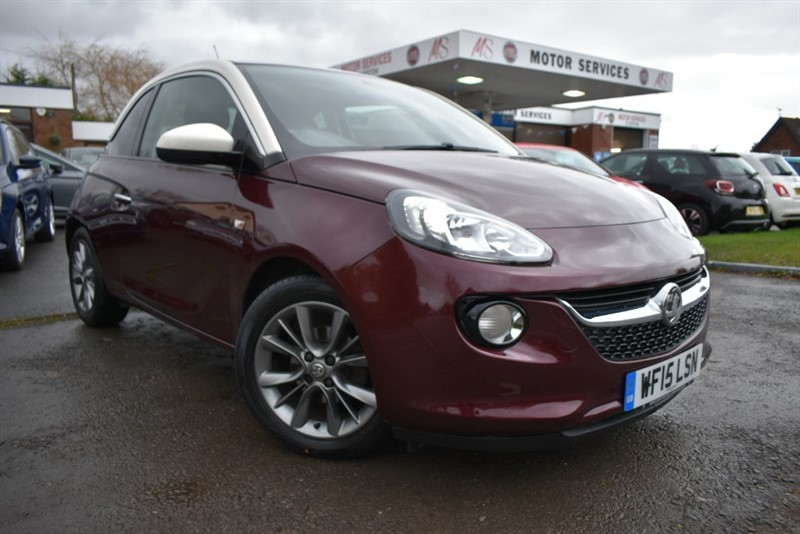 used Vauxhall Adam JAM in chepstow-wyvern
