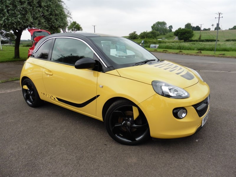 used Vauxhall Adam SLAM in chepstow-wyvern