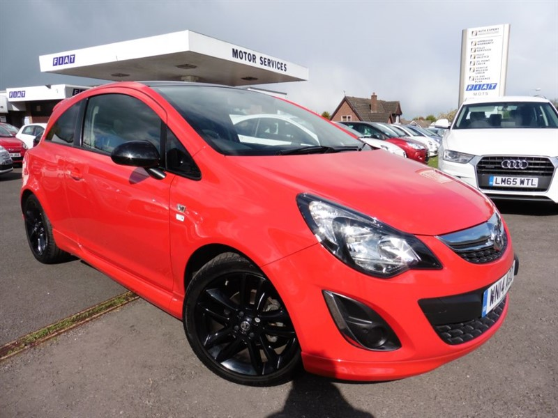 used Vauxhall Corsa LIMITED EDITION in chepstow-wyvern
