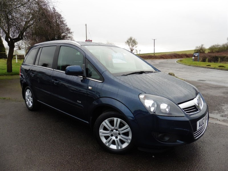 used Vauxhall Zafira DESIGN in chepstow-wyvern