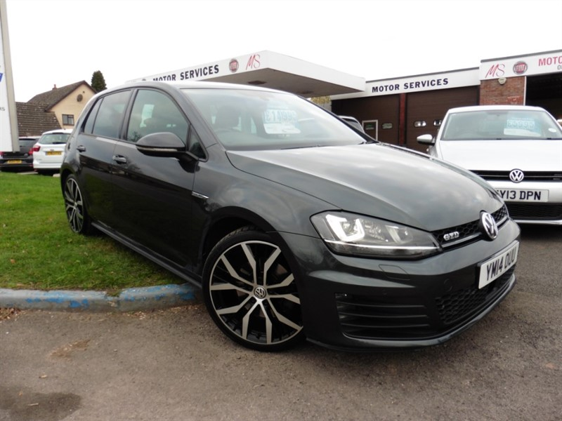 used VW Golf GTD DSG in chepstow-wyvern