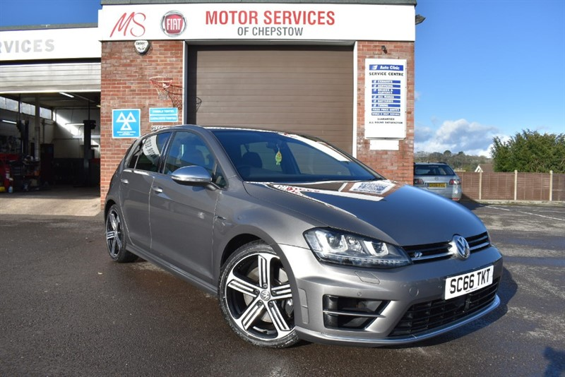 used VW Golf R DSG in chepstow-wyvern
