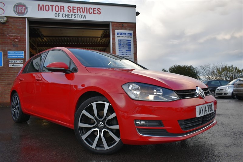 used VW Golf GT TDI BLUEMOTION TECHNOLOGY in chepstow-wyvern
