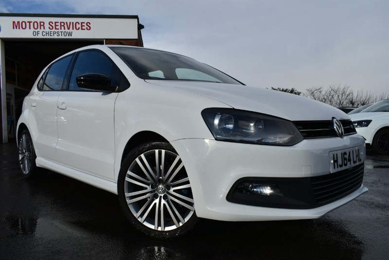 used VW Polo BLUEGT in chepstow-wyvern