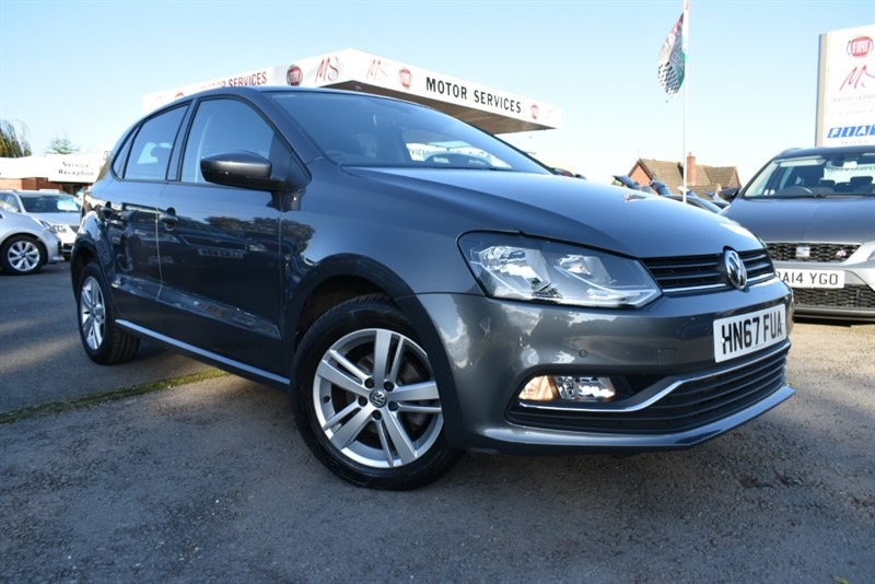 used VW Polo MATCH EDITION TSI in chepstow-wyvern