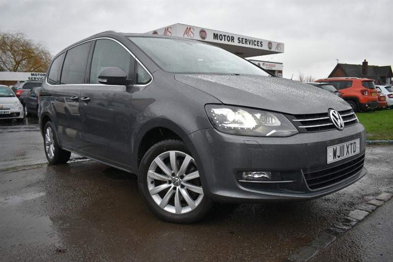 used VW Sharan SEL TDI BLUEMOTION TECHNOLOGY in chepstow-wyvern