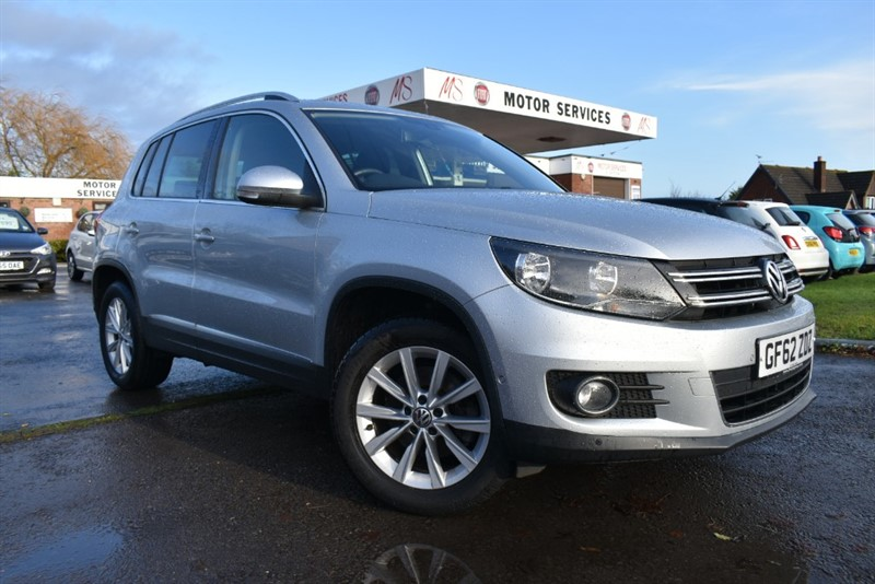 used VW Tiguan SE TDI BLUEMOTION TECHNOLOGY in chepstow-wyvern