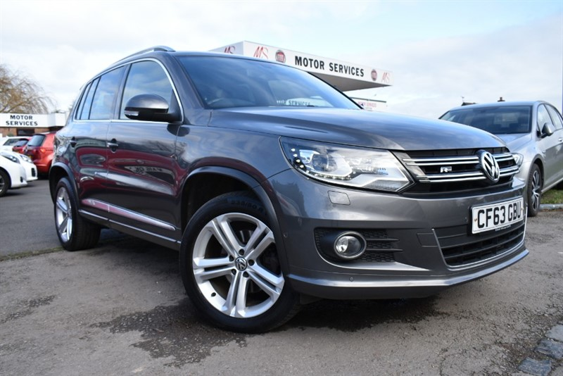 used VW Tiguan R LINE TDI BLUEMOTION TECH 4MOTION DSG in chepstow-wyvern