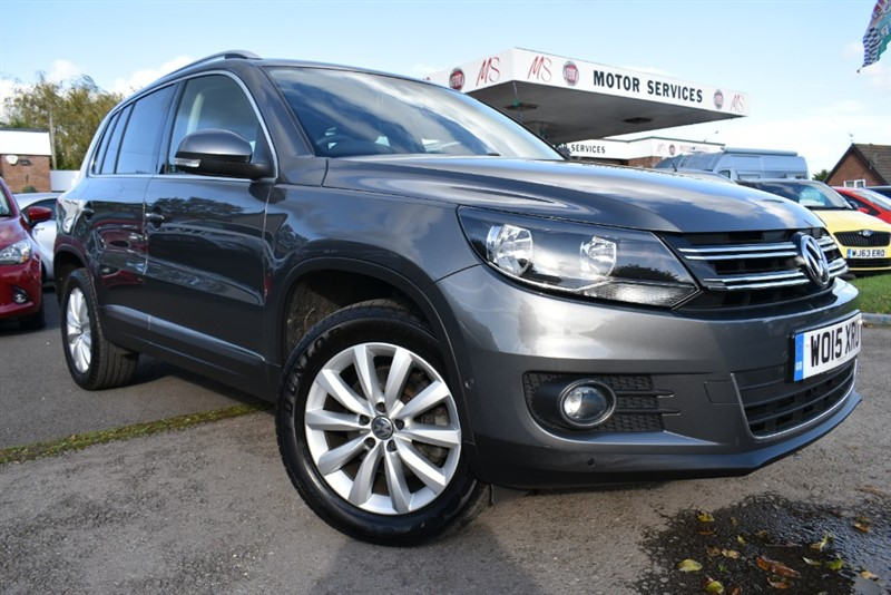 used VW Tiguan MATCH TDI BLUEMOTION TECH 4MOTION DSG in chepstow-wyvern