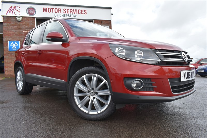 used VW Tiguan MATCH EDITION TDI BMT 4MOTION in chepstow