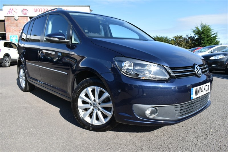 used VW Touran SPORT TDI BLUEMOTION TECHNOLOGY in chepstow-wyvern