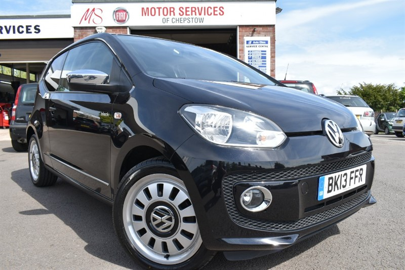 used VW Up UP BLACK in chepstow-wyvern