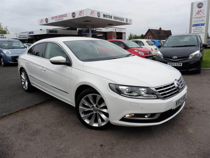 used VW CC GT TDI BLUEMOTION TECHNOLOGY in chepstow-wyvern