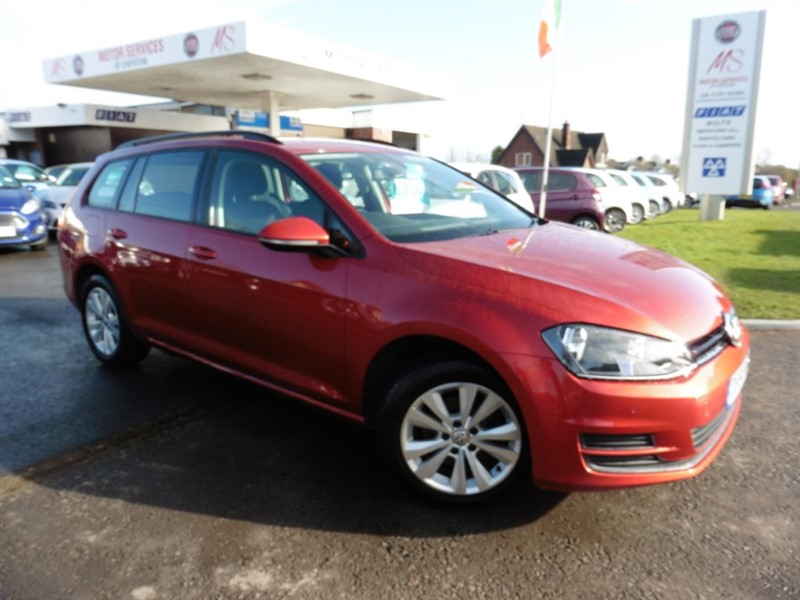 used VW Golf SE TDI BLUEMOTION TECHNOLOGY in chepstow-wyvern