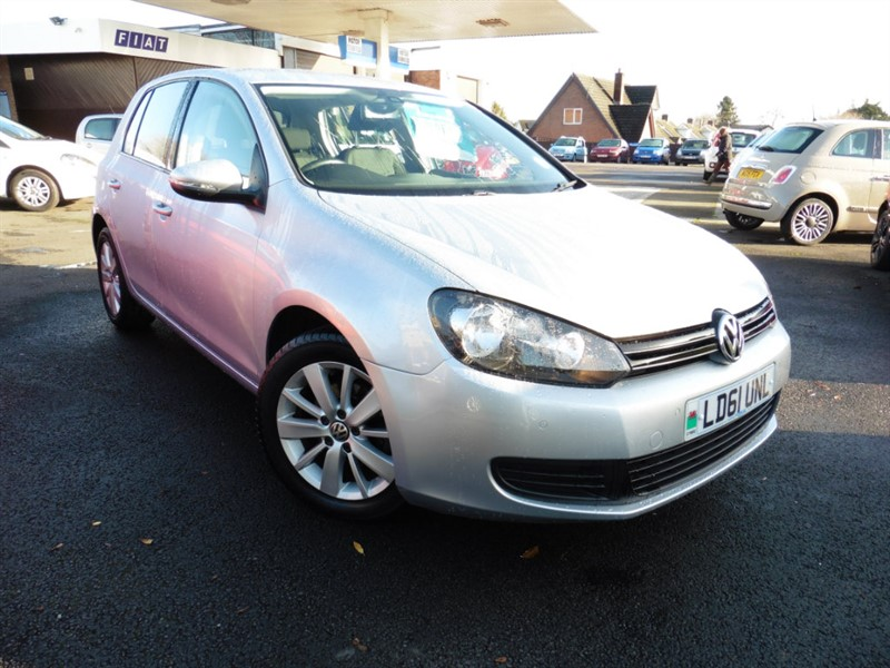 used VW Golf TDI Match 5dr in chepstow-wyvern