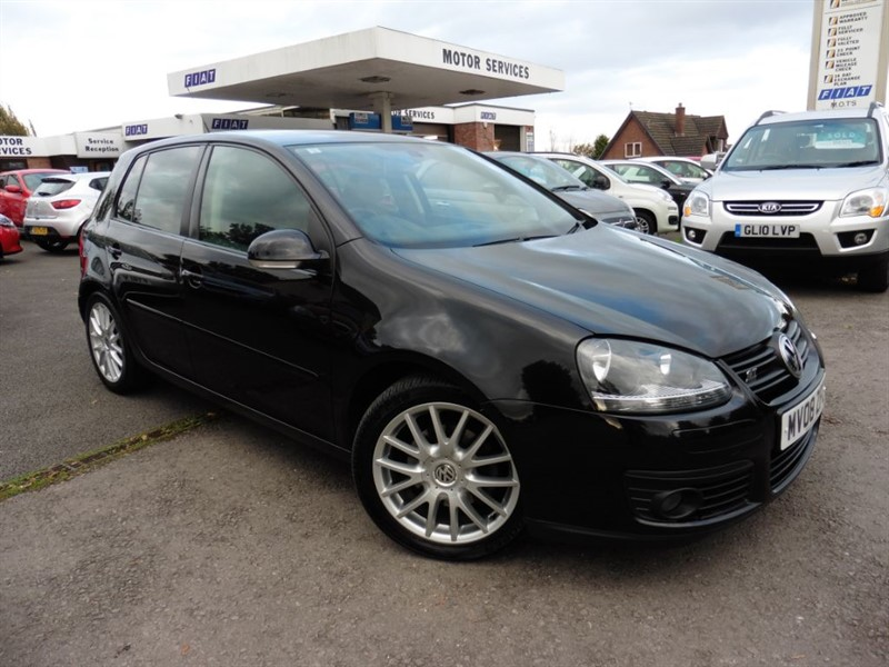 used VW Golf GT TDI in chepstow-wyvern