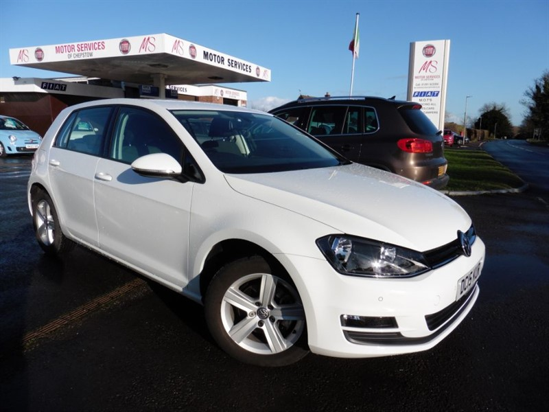 used VW Golf MATCH TDI BLUEMOTION TECHNOLOGY DSG in chepstow-wyvern